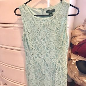 EVERYTHING UNDER $20! Ralph Lauren Blue Lace Dress